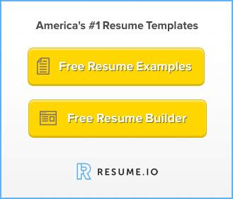 Build a resume in word